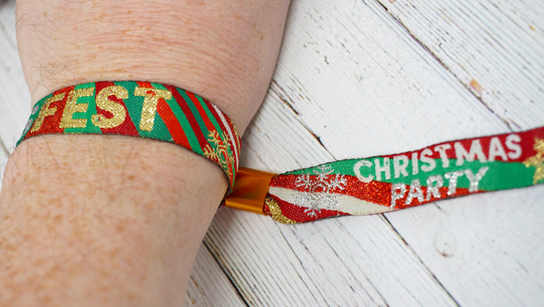 XMASFEST christmas party festival wristband