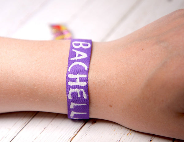 bachella boho bridal shower bachelorette party wristbands