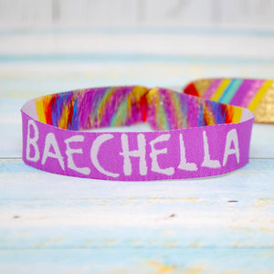 BAECHELLA Festival Party Wristbands