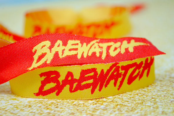 Baywatch / Baewatch Hen Party Theme Wristbands