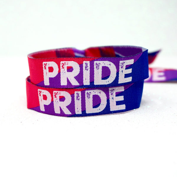 bi sexual gay pride wristbands accessories