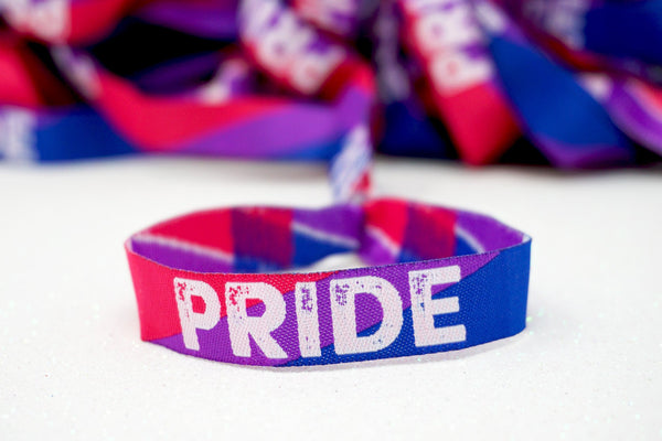 bisexual pride accessories wristband bracelet