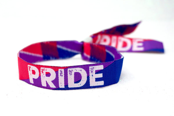 bisexual pride parade bracelet wristbands