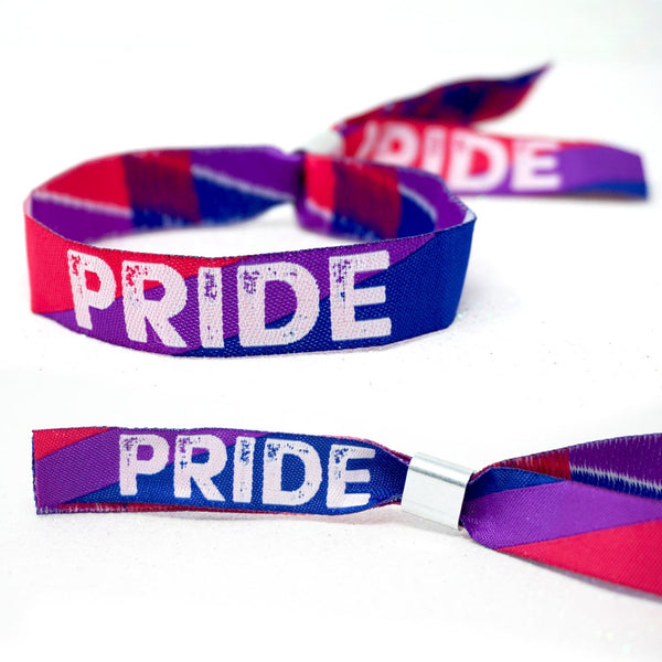 bisexual pride parade event wristbands