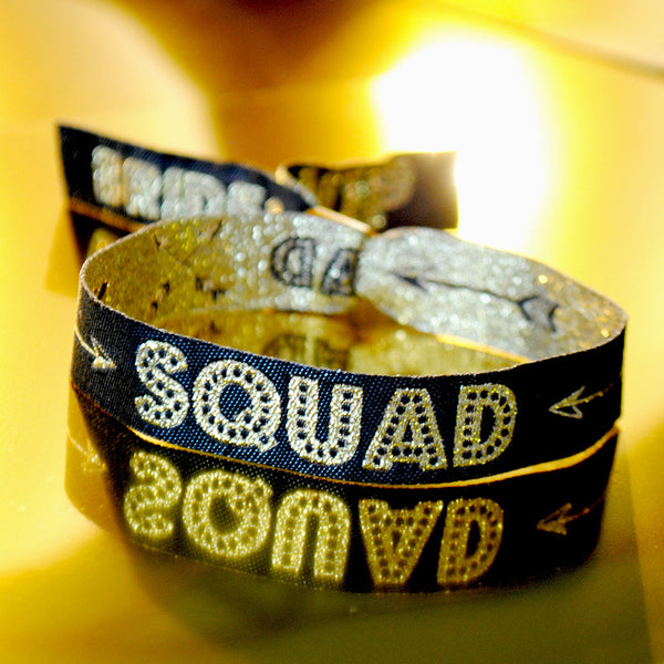 Bride Squad Hen / Bachelorette Party Wristbands