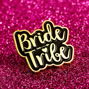 Bride Tribe Hen~Bachelorette Party Enamel Pin Badges