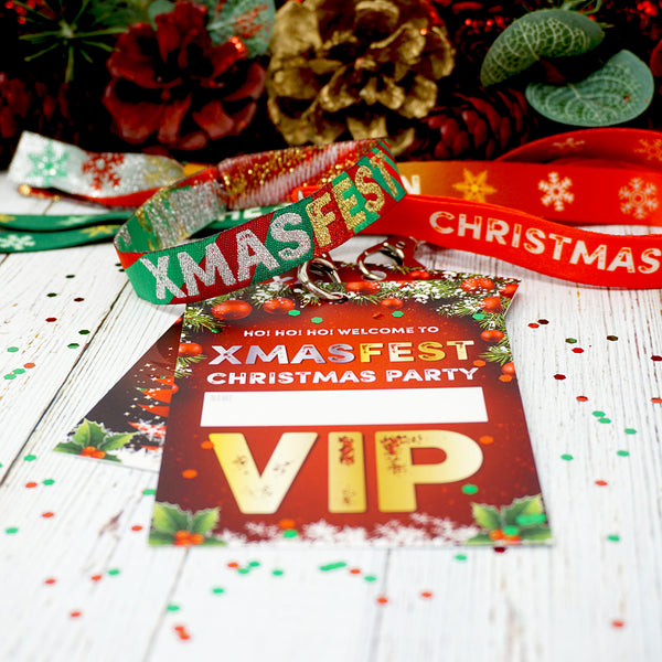 christmas party at home accessories festival lanyards wristbands