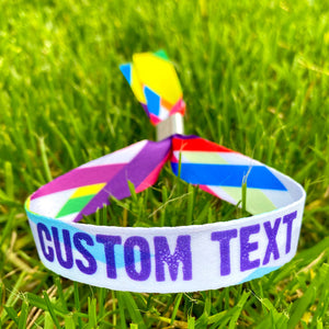 custom festival wristbands
