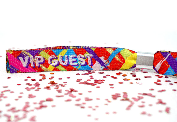 festival theme party wristbands