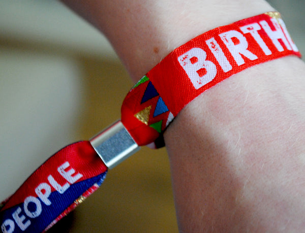 birthday fest party wristbands