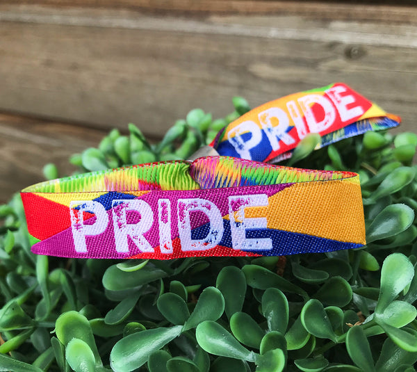 Pride Rainbow Wristbands - Gay Pride Wristbands