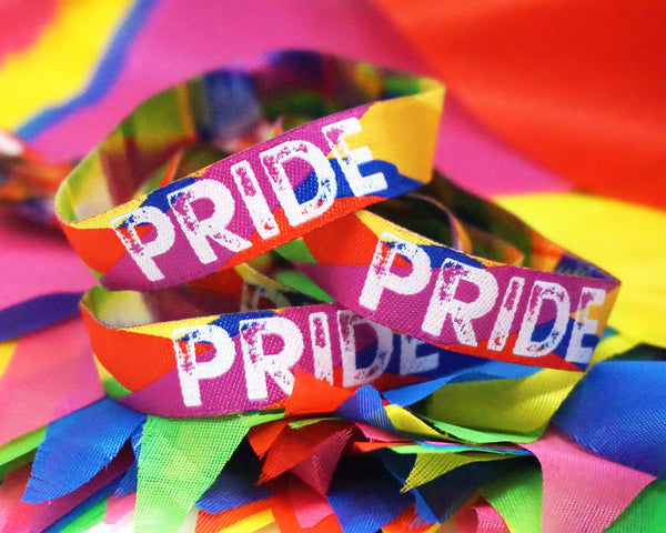 gay pride parade festival wristbands