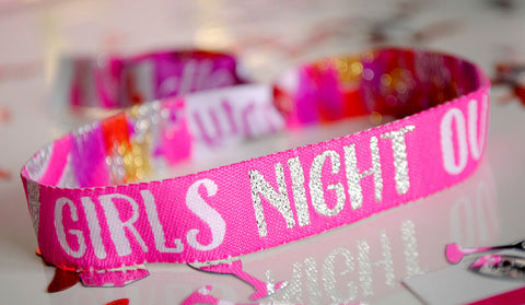 Girls Night Out Hen Party Wristbands