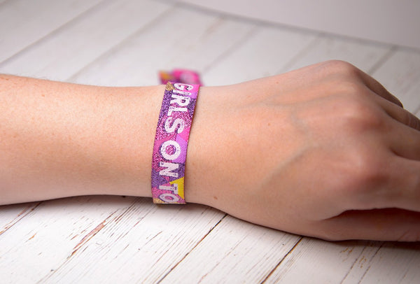 girls on tour festival wristbands
