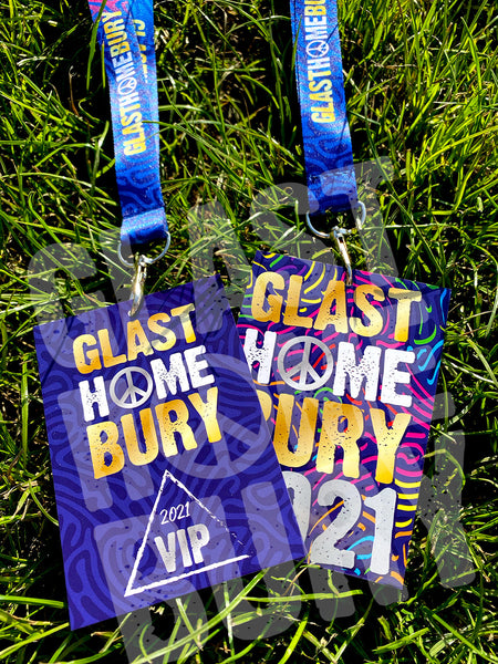 glast home bury festival lanyards