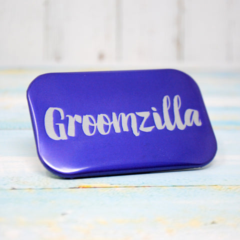 Groomzilla Stag Do Badge ~ Groom To Be Badge