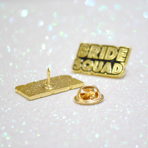 Bride Squad Hen~Bachelorette Party Enamel Lapel Pin Badges