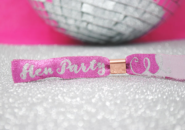 TEAM HEN Hen Party Wristbands