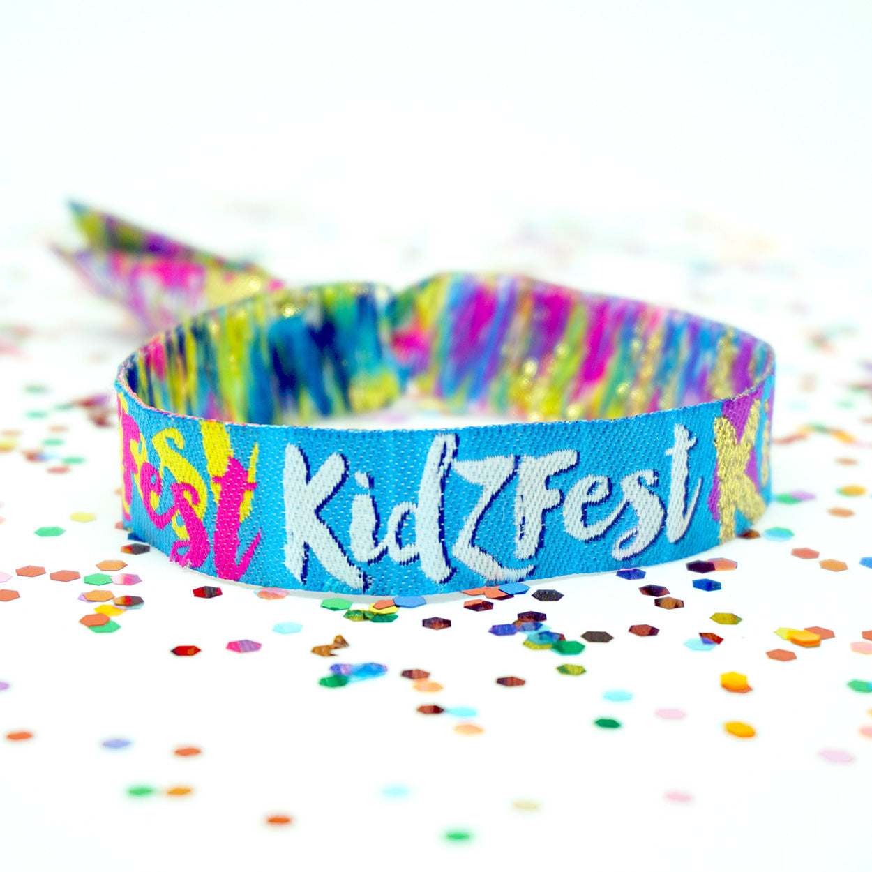 kidzfest kids childrens festival party wristbands