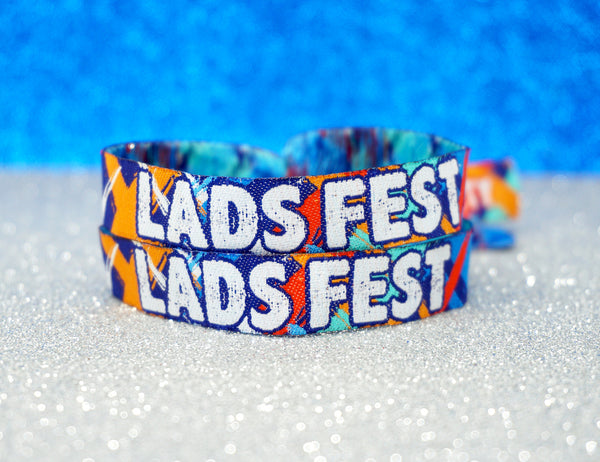 lads fest ladsfest festival stag do party wristbands