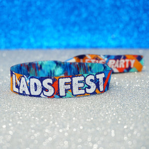 ladsfest lads fest festival stag do party wristbands