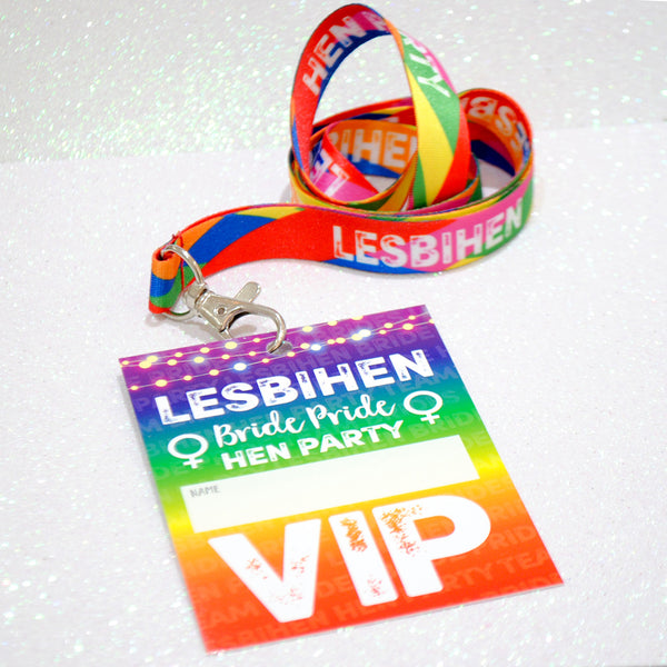 LESBIHEN ® (BUNDLE) Hen Party Accessories Bundle