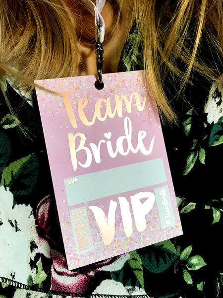 rose gold hen party team bride bachelorette party favours