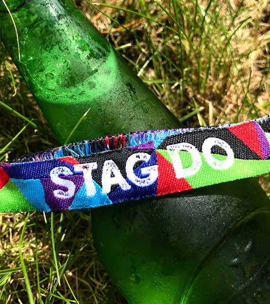 Stag Party Wristbands (Team Groom) Stag Do Wristbands