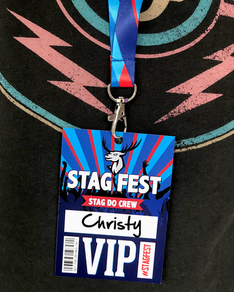 stag fest festival stag do party vip pass-lanyards