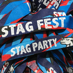 STAGFEST Stag Do Wristbands