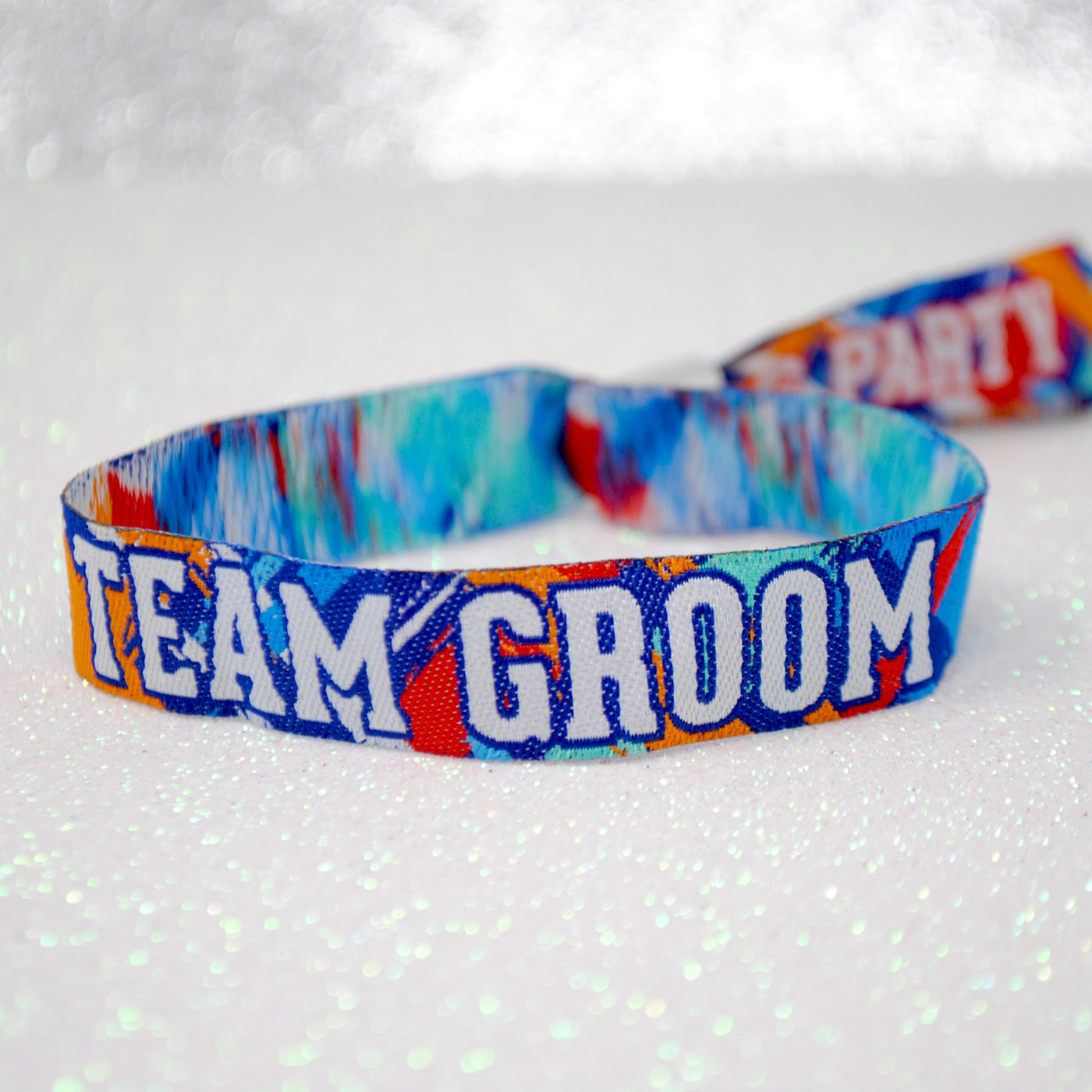 Team Groom Stag Party Wristbands