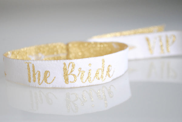 the bride festival hen party wristband