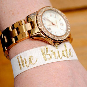 the bride hen party wristbands