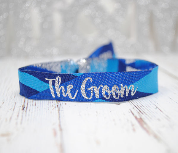 The Bride & The Groom Wedding Wristbands