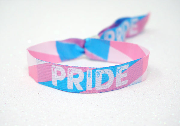 trans pride bracelets wristband accessories