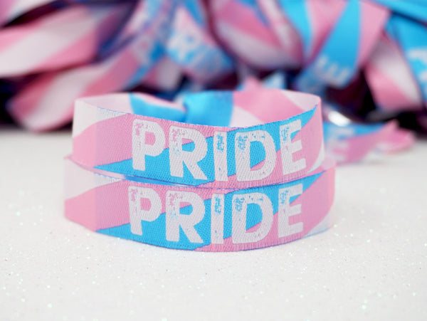 transgender gay pride wristbands accessories