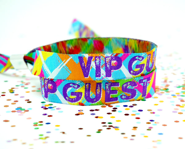 vip festival security wristbands