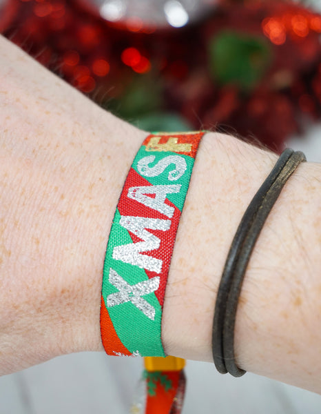 xmasfest festival theme christmas party wristbands