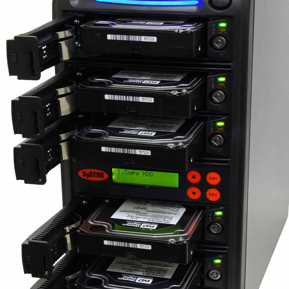 Easy Loading HDD/SSD Duplicator