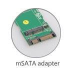 mSATA to SATA Hard Drive Adapter (P1050) - Duplicator Depot