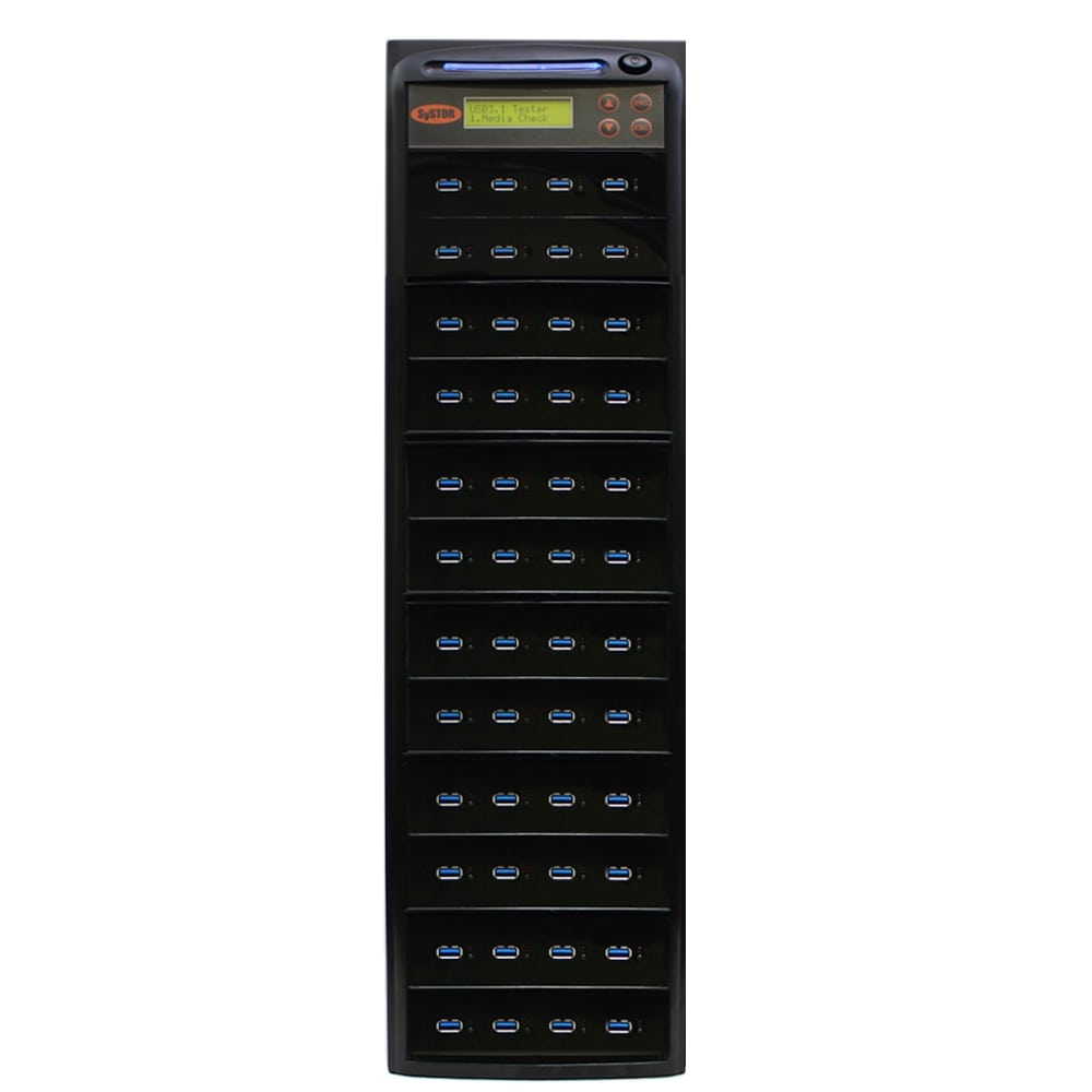 Systor 1:47 USB 3.1 300MB/s Flash Drive Duplicator - (SYS-USB30-47) - Up to 18GB per minute - Duplicator Depot