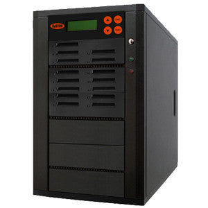 SySTOR 1:14 Multiple CFast (Compact Fast) Memory Card Duplicator / Drive Copier 150MB/sec - (SYS-CFast-14) - Duplicator Depot