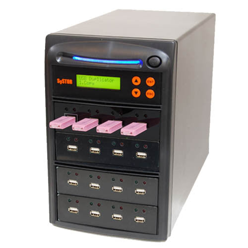 SySTOR 1:15 Multiple USB Thumb Drive Duplicator / USB Flash Card Sanitizer - (SYS-USBD-15)