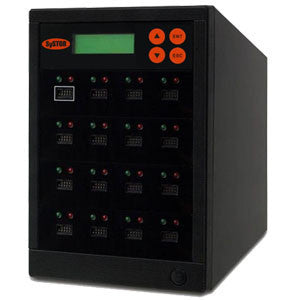 SySTOR 1:15 Multiple eUSB (Embedded USB) Memory Card Duplicator / Drive Copier - (SYS-eUSB-15) - Duplicator Depot