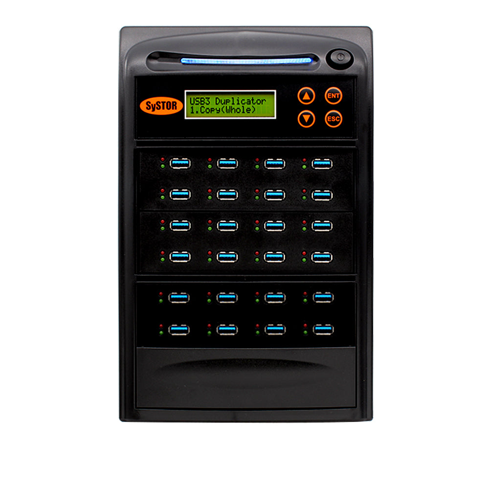 Systor 1:15 USB 3.1 100MB/s Flash Drive Duplicator - (SYS-USB30100-15) - Up to 6GB per Minute - Duplicator Depot
