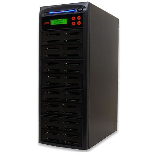 SySTOR 1:31  Multiple Compact Flash CF Memory Card Duplicator / Sanitizer - (SYS-CFD-31) - Duplicator Depot