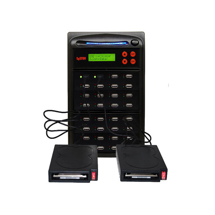 SySTOR 1:31 High Speed Duplicator for External USB Hard Drive & USB Flash Memory Card - (SYS31EXH) - Duplicator Depot