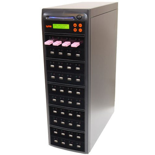 Systor 1 to 39 Multiple USB Thumb Drive Duplicator & Sanitizer (up to 2GB Per Minute) - SYS-USBD-39 - Duplicator Depot