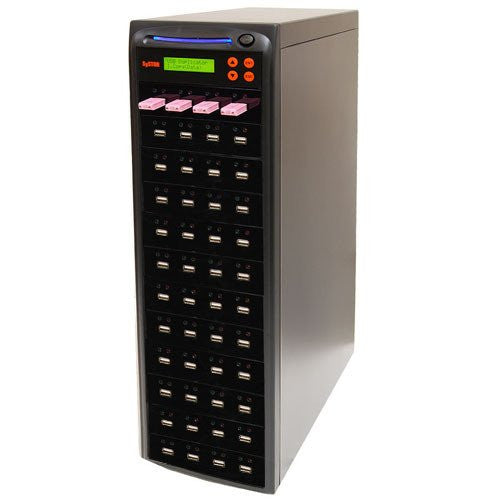 Systor 1 to 47 Multiple USB Thumb Drive Duplicator & Sanitizer (up to 2GB Per Minute) - SYS-USBD-47 - Duplicator Depot