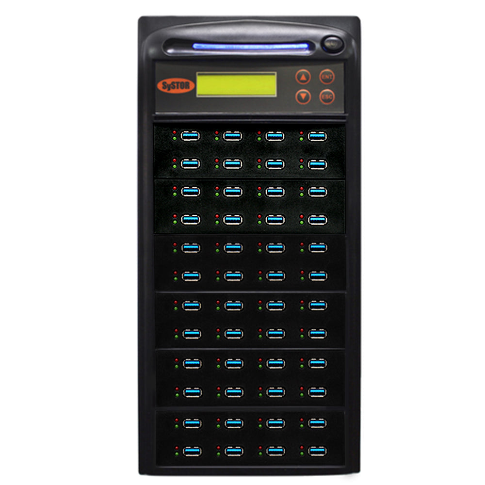 Systor 1:47 USB 3.1 100MB/s Flash Drive Duplicator - (SYS-USB30100-47) - Up to 6GB per Minute - Duplicator Depot